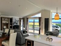 STUNNING 3 BEDROOM LODGE FOR SALE IN THE NORTH EAST , PET FRIENDLY , SITE FEES INCLUDED