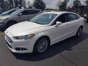 2014 Ford Fusion TITANIUM AWD! LEATHER TRIM! NAVIGATION! SUNROOF