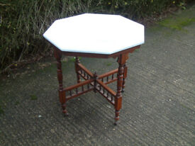 Shabby Chic Octagonal Table