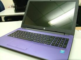 HP Intel Core I3 4th Gen Laptop Purple Computer 8GB 1TB WIFI Webcam HDMI