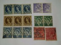 Collect GB Post Age Revenue Stamps