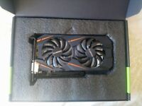 i3 6100 processor + MSi H110M motherboard + Gigabyte GTX1060 3GB Windforce OC graphics card