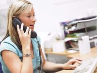 Telesales person required in East London £1300 per month basic + Commission