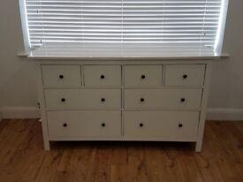 IKEA HEMNES Chest Of 8 Drawers - White
