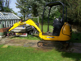 Jcb 8014 cts Needs repair SOLD SOLD SOLD