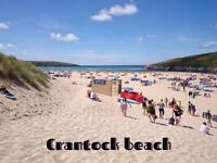 Luxury caravan 6 berth may-June-July-Aug CRANTOCK NEWQUAY 5*park wifi fishing beachLOTS TO SEE & DO