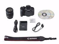 Canon EOS 700D 18.0MP SLR Camera - Black EF-S 18-55mm IS STM