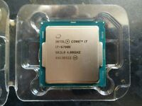 Intel i7-6700k 4Ghz CPU (has never been installed)