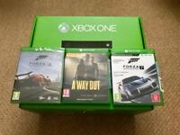XBox One 500GB with Kinect & 4 games