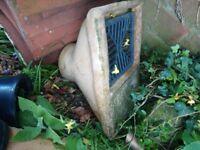 Clay drainage
