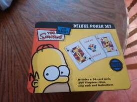 Simpson poker set