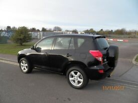 TOYOTA RAV 4, MODEL XT5,BLACK,AUTOMATIC,LOW MILEAGE