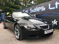 BMW 6 SERIES M6 5.0 V10 (black) 2005