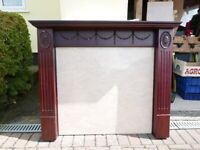 Repro Style Fire Surround