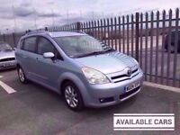 2004 Toyota Corolla Verso 1,8 litre 5dr 7 seater 2 owners