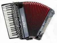 Fantini 37 Key / 96 Bass - 4 Voice (LMMH) - Top Quality Italian Piano Accordion