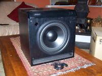 Subwoofer CHT-10Q Velodyne . Owned from new .