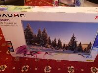 MASSIVE 55 INCH Full HD TV Bauhn! INTEGRATED FREEVIEW HD! PVR! BRAND NEW AND SEALED!
