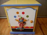 Hand Crafted Bedroom Furniture by Heather Spencer - Circus Themed