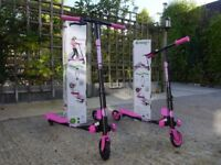 2 FLICKER AIR SCOOTERS