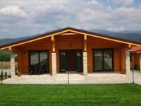 New Build detached houses for sale with AMAZING views in Bulgaria.