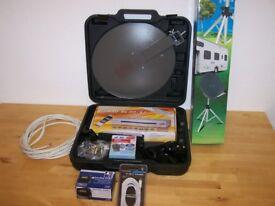 Caravan Suitcase Satellite Dish
