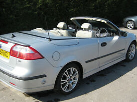 Saab 9-3 convertible 2.0l Vector Sport with LPG (70+mpg) Go green - go topless!!