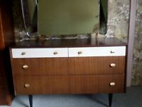 1960's and older furniture, all good quality, real wood and bargain due to urgent sale.