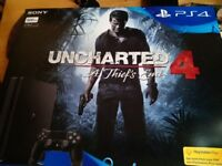 Sony PS4 plus Uncharted game, Brand new still boxed/unused