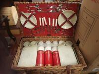 Vintage Sirram picnic basket