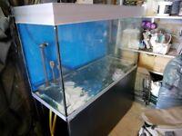 Fluval Profile 1200 325 litre aquarium and stand