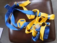 SAFETY HARNESS SUITABLE FOR SITE CLIMBING ETC NEVER USED