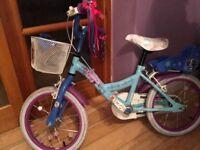 16 inch girls frozen bike