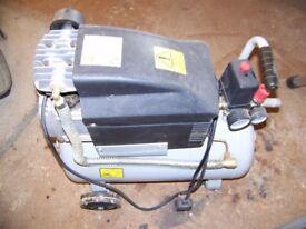 24l compressor 2hp motor done very little work.