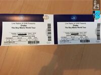 DRAKE TICKETS @ O2 ARENA 14th FEB VALENTINES DAY