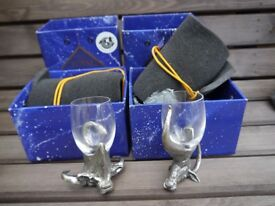 Royal Selangor Frakli wild shot glasses