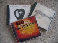 Three FOO FIGHTERS cd's