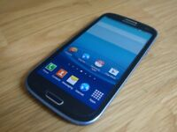 Samsung Galaxy S3 III GT-I9300 16GB Metallic Blue Android Mobile Phone Unlocked - New Battery