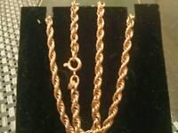 9ct gold chain 🔗