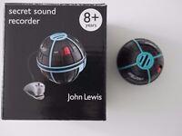 Secret sound recorder toy from John Lewis toys