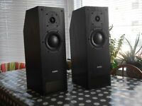 Pair of PMC LB-1 Studio Monitor Speakers with Bryston powerpac 60 amplifiers