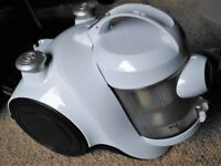 Argos Bagless cylinder vacuum - little used so in excellent condition