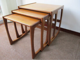 g-plan nest of tables circ 1972