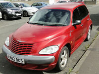 2000 2L, petrol Chrysler PT Cruiser Touring Edition, 6 months MOT