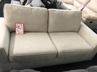 DFS Vettel Fabric 3 seater sofa