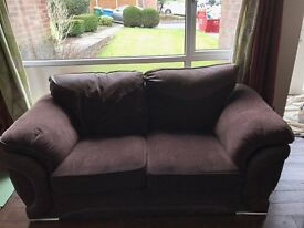 REDUCED Excellent two Seater Sofa & matching Cuddle Chair MUST GO THIS WEEK
