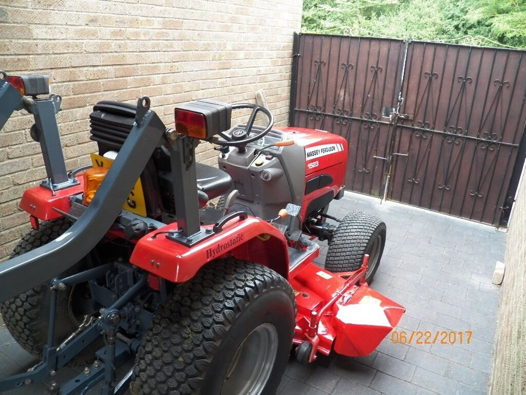 MASSEY FERGUSON 1523 COMPACT TRACTOR,500 GENUINE HOURS,HYDROSTATIC,NO VAT  TO PAY