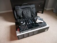 Traktor S4 Mk1 - 4 Channel DJ midi Controller with Gator Case - Immaculate - Used a handful of times