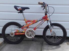 Boys Magna Lava Bike 16 Inch Wheels