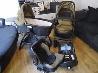 Graco Evo travel system with lots of extras